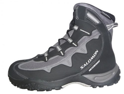 Salomon Stenson TS WP Women Outdoor Schuhe black-autobahn-mid grey - 38 (2 Skate Schuhe Mid)