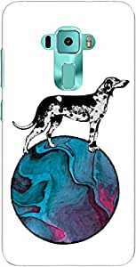 The Racoon Grip A Dog's World hard plastic printed back case/cover for Asus Zenfone 3 Ze552Kl