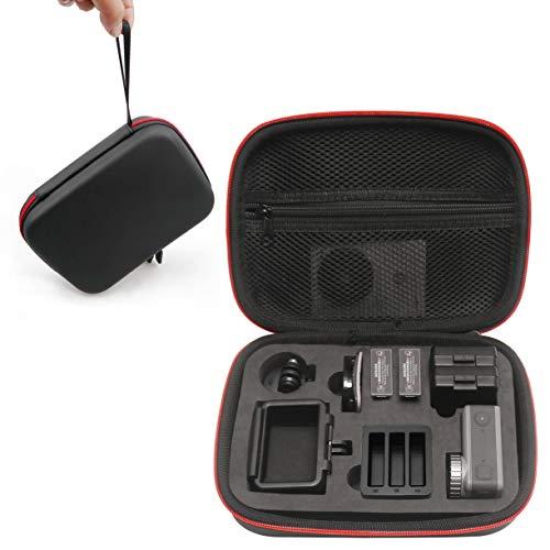 Kismaple Impermeabile Custodia da trasporto Borsa per DJI Osmo Action Cam, telecamera Telaio, base, Batteria, Cavo e altri accessori Borsa di stoccaggio