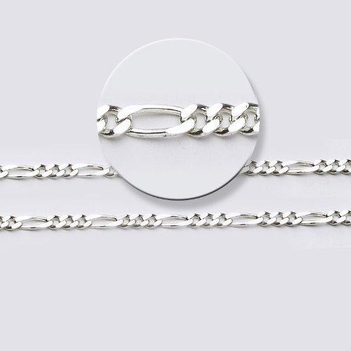 LIOR - Chaîne pour homme et femme largeur: mm Argent fin 925/1000