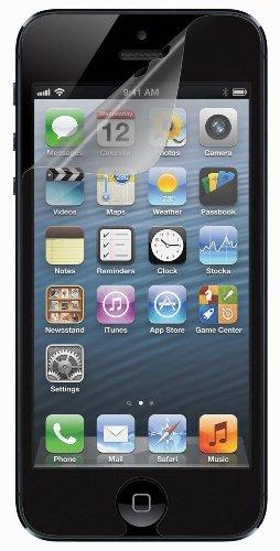 Belkin Screen Overlay Displayschutzfolie (Retina HD optimiert) für iPhone 5/5s/5c transparent -