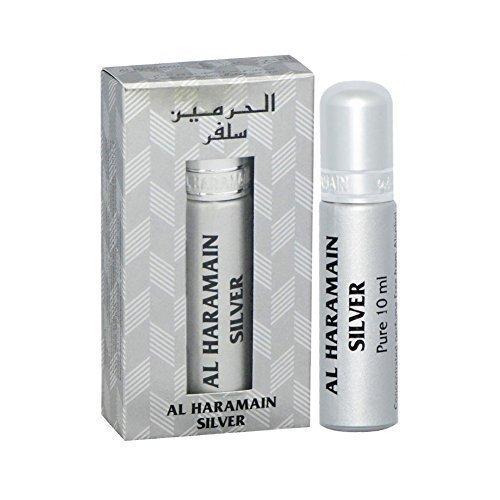 Argenté par al haramain Base 10 ml Huile Roll-On Parfum - Amazing Attar