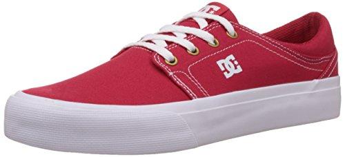 DC ShoesTrase TX M Shoe - Scarpe da Ginnastica Basse Unisex – Adulto, Rosso (Rot (RDW)), 39 EU