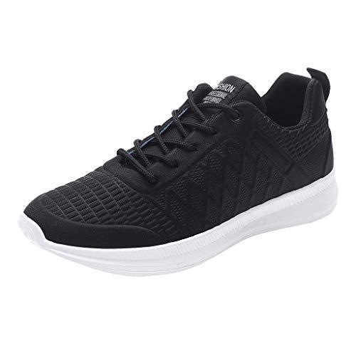 POLPqeD Men Casual Scarpe Sportive Uomo Mesh Traspirante Traine Formatori Stagioni Scarpe da Tennis Leggero Sport Shoes