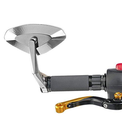 Preisvergleich Produktbild Lenkerendenspiegel Puig KTM 125 Duke 11-17 Hi-Tech 4 (Paar) silber