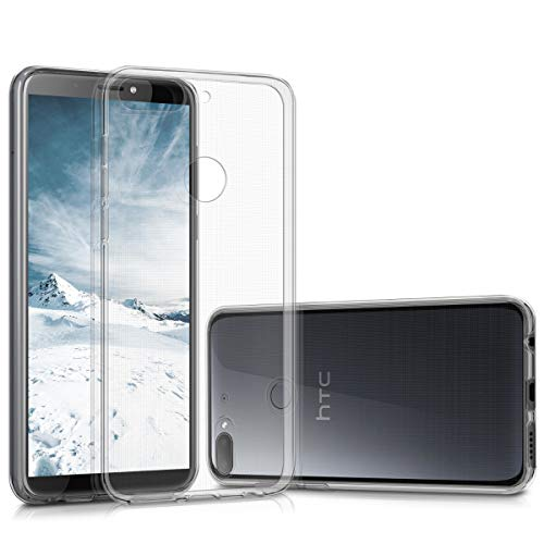 kwmobile HTC Desire 12+ Hülle - Handyhülle für HTC Desire 12+ - Handy Case in Transparent