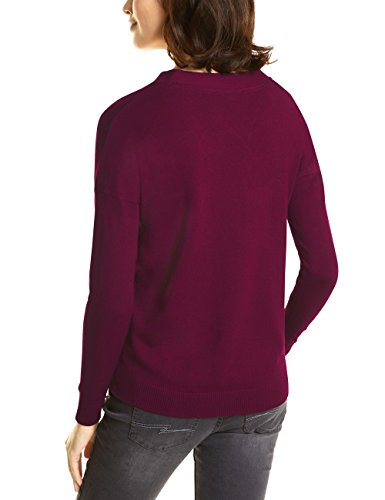 Street One Damen Pullover Rot (Warming Berry 11118)