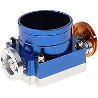 Homyl Colector de Admisión de Cuerpo de Acelerador 90 mm RB25DET RB26DET GTS Throttle Body Intake Manifold - Azul
