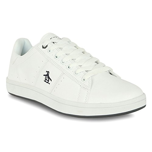 penguin-mens-trainers-white-size-9