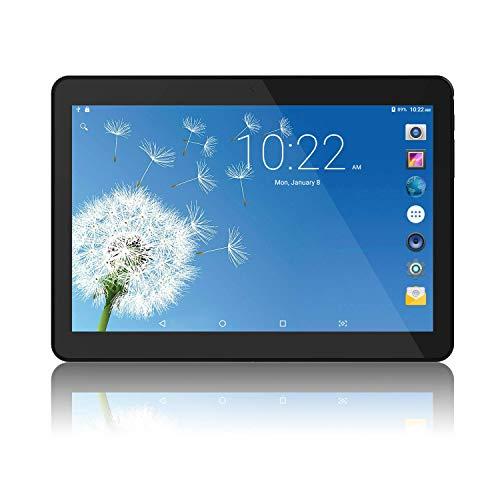 Tablet Android 8.1 da 10 pollici con processore a otto core WIFI, navigazione Bluetooth 2 GB di RAM 32 GB di memoria Dual SIM 3Gè anche un cellulare (Nero)