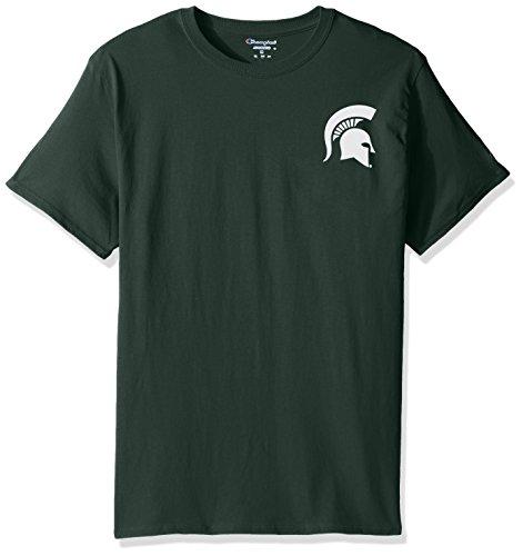 NCAA Notre Dame Fighting Irish Herren Champ Short Sleeve T-Shirt 5Navy, Herren, NCAA Men's Champ Short Sleeve T-Shirt 5, Team Color-3, Large