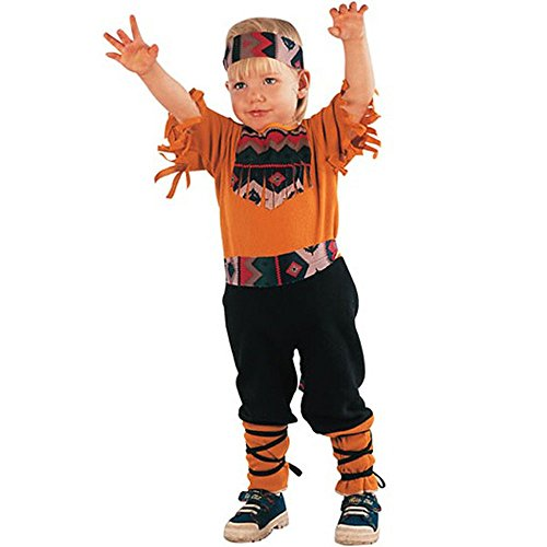 Indian Boy Kostüm (Indian Baby Boy 2-4J Kinder Fasching)