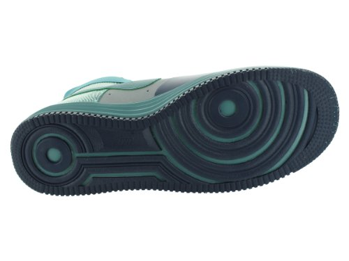 Lunar Force de 1 Ns Salut Prm Argent / minérale Teal chaussure de basket 9,5-nous - Silber (Silver/Mineral Teal)