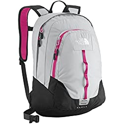 The North Face Vault Womens Backpack - High Rise Grey TNF Black - One Size, 25.0 l
