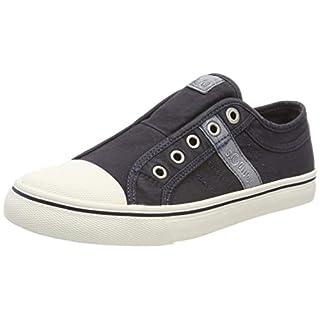s.Oliver Damen 5-5-24635-22 805 Slip On Sneaker Blau (Navy 805)), 40 EU