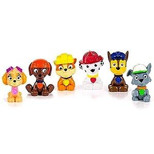 PAW PATROL – Paquete de Juguetes 6 Mini Personajes Set di 6 Multicolor