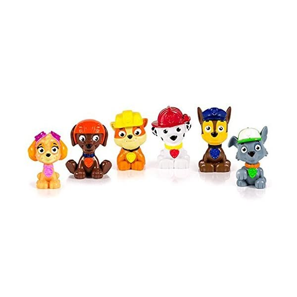 PAW PATROL - Paquete de Juguetes 6 Mini Personajes Set di 6 Multicolor 2