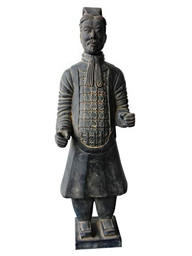 Chinesische Archaize Terra Cotta Warriors Stehender Soldat Crafts Statue Qin Chao Qin Shihuang Terrakotta Warriors Soldat Statue 60Cm