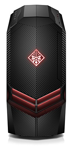 Omen by HP 880-072ng Gaming Desktop PC (AMD Ryzen 7 1700, 16GB RAM, 2TB HDD, 256GB SSD, AMD Radeon RX 580, Windows 10 Home 64) schwarz Hp Windows 7 Desktop -
