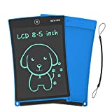 NEWYES 8,5 Pulgadas Tableta Gráfica |Tablet de Escritura LCD eWriter | Tableta portátil de Dibujo o Notas para el Hogar, Escuela u Oficina| Adecuado como Juguete para niños y niñas (Azul)