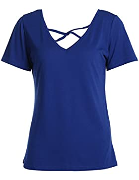 Ecotrump Camisas - Para Mujer Azul Azul Large