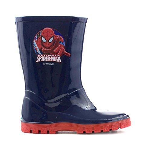 Spiderman , Jungen Stiefel Blau