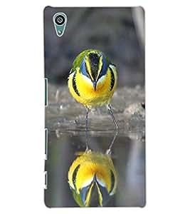 ColourCraft Cute Bird Design Back Case Cover for SONY XPERIA Z5