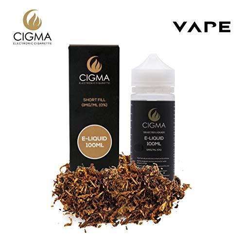 CIGMA Classic Tabaco 100ml E Liquido 0mg | Nuevas