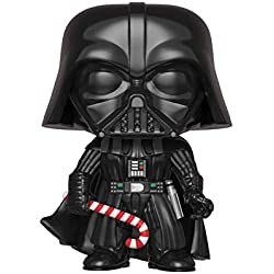 Funko – Pop.Color Star Wars Color Holiday Darth Vader (Bobblehead),, 33884
