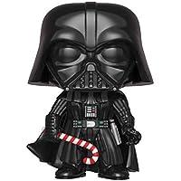 FunKo - Pop! : Star Wars: Holiday Darth Vader (Bobblehead), Mehrfarbig, 33884