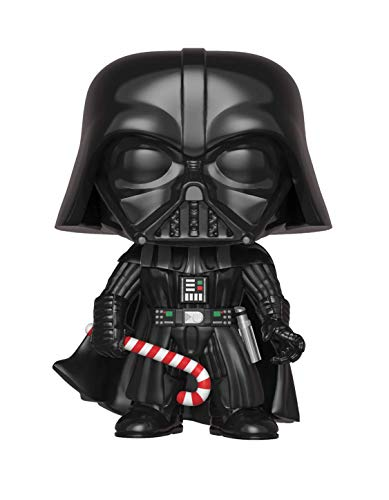 Funko - Pop.Color Star Wars Color Holiday Darth Vader (Bobblehead),, 33884