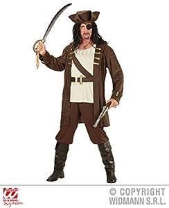 WIDMANN wdm59243?Disfraz pirata, marrón, Large
