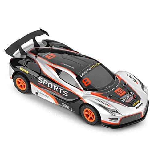Ferngesteuertes Auto Elektro RC Auto 35 km/h 4WD-Funkfernsteuerungs-Fahrzeug-Sport, der Hobby-Grad-Lizenzauto-Modellauto-Maßstab 1:10 für Kinder, die erwachsenes Auto RC orange sind