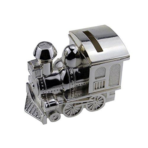 Tirelire, Fgf Petite locomotive Tirelire, Argent Rks-cb007