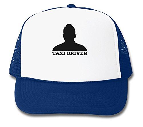 Taxi Driver Silhouette De Niro Design Trucker - Driver Taxi Cap