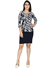 FRANCLO Women's Pee-plum dress (Best fit 30-32 bust)
