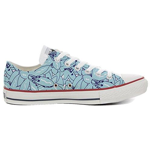 stomized - personalisierte Schuhe (Handwerk Produkt) Light Paisley Size 38 EU ()