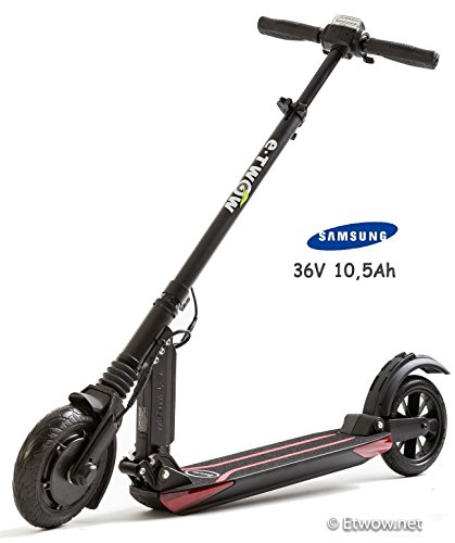 E-Twow Booster Samsung 10,5Ah Patinete,Negro, Talla Única