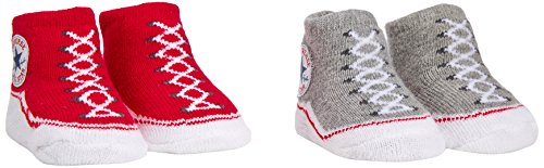 by Bekleidungsset 2 PK Bootie, Gr. 0-6 Monate, Rot (Converse Red/Vintage Grey Heather) ()