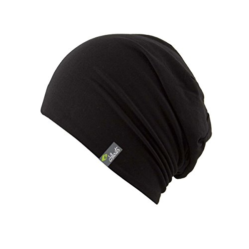 CHILLOUTS CHILLOUTS Erwachsene Longbeanie Acapulco Hat Black, One Size