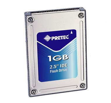 1 GB 5,08 cm IDE SSD Tiger Temp Standard -