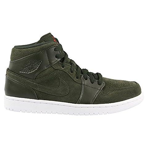 554724 302|Nike Air Jordan 1 Mid Sneaker Gruen|44.5 (Nike Jordan 1 Mid)