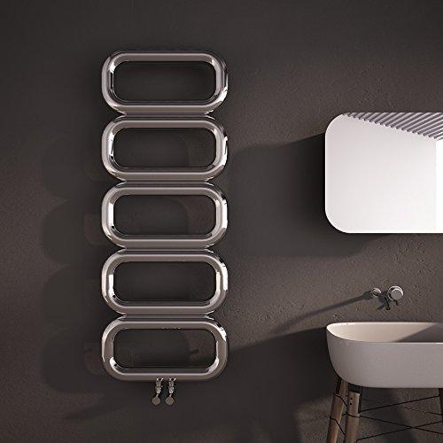 Riess Ambiente Design in Velluto Sgabello Multi Talent con vano portaoggetti Colore: Grigio
