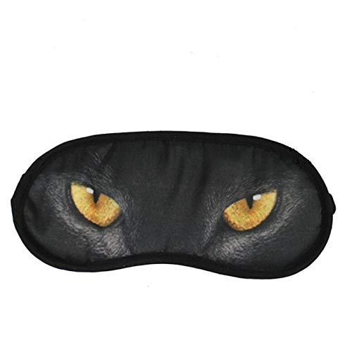 afende Tiere, Schlafmasken des Karikatur-Leopard-3d, Augenmasken-weiche Abdeckung für die Reise entspannen sich das Schlafen, verwendbar für Männer, Frauen und Kinder D ()