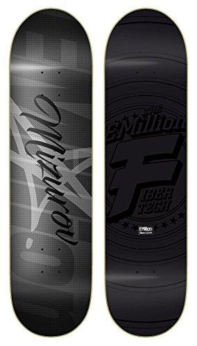 Emillion Alex Mizurov Fibertech Skateboard Deck 31,5'' x 8,125'' + Fantic26 Sticker