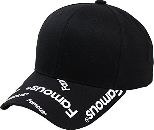 Sujii FAMOUS Célèbre Casquette de Baseball Chapeau de Golf Baseball Cap Golf Hat Trucker Hat