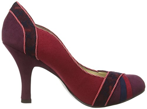 Ruby Shoo Heather, Ballerines et talons femme Rouge - Rouge
