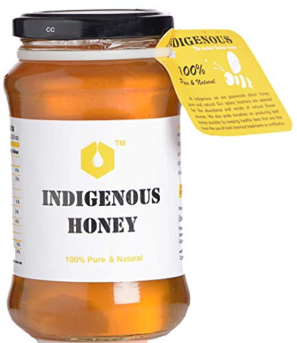 2. Raw Organic Honey by Indigenous Honey
