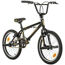 Lorenz Optics ProBike, Stinger, 20pulgadas, Freestyle Bike, BMX, 360° Sistema de rotor, 4Pegs de acero, protector de cadena, piñón libre