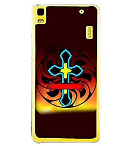 Fuson Premium My Lord Metal Printed with Hard Plastic Back Case Cover for Lenovo A7000